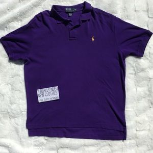 Polo Ralph Lauren Purple Polo Shirt 👕